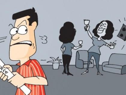 Shall Men Not File For Divorce?